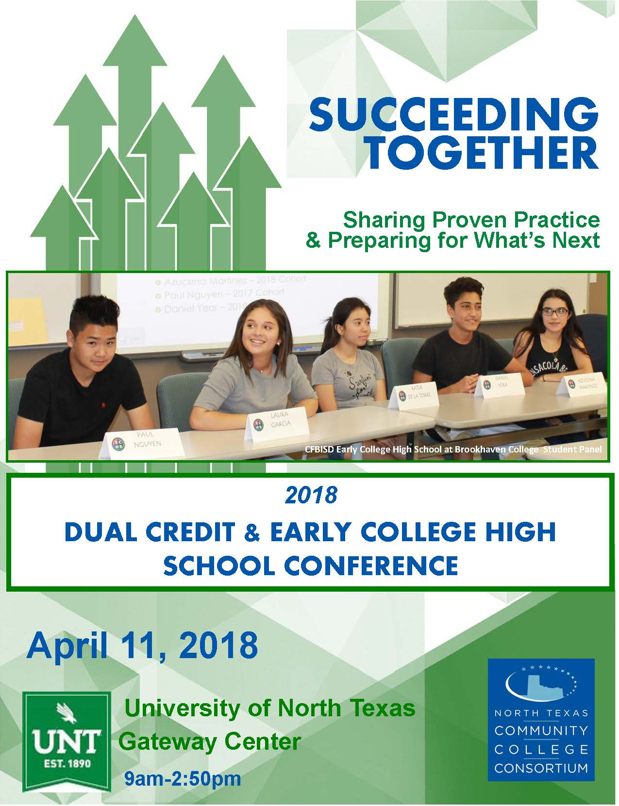 2018 Dual Credit ECHS Conference Program Cover