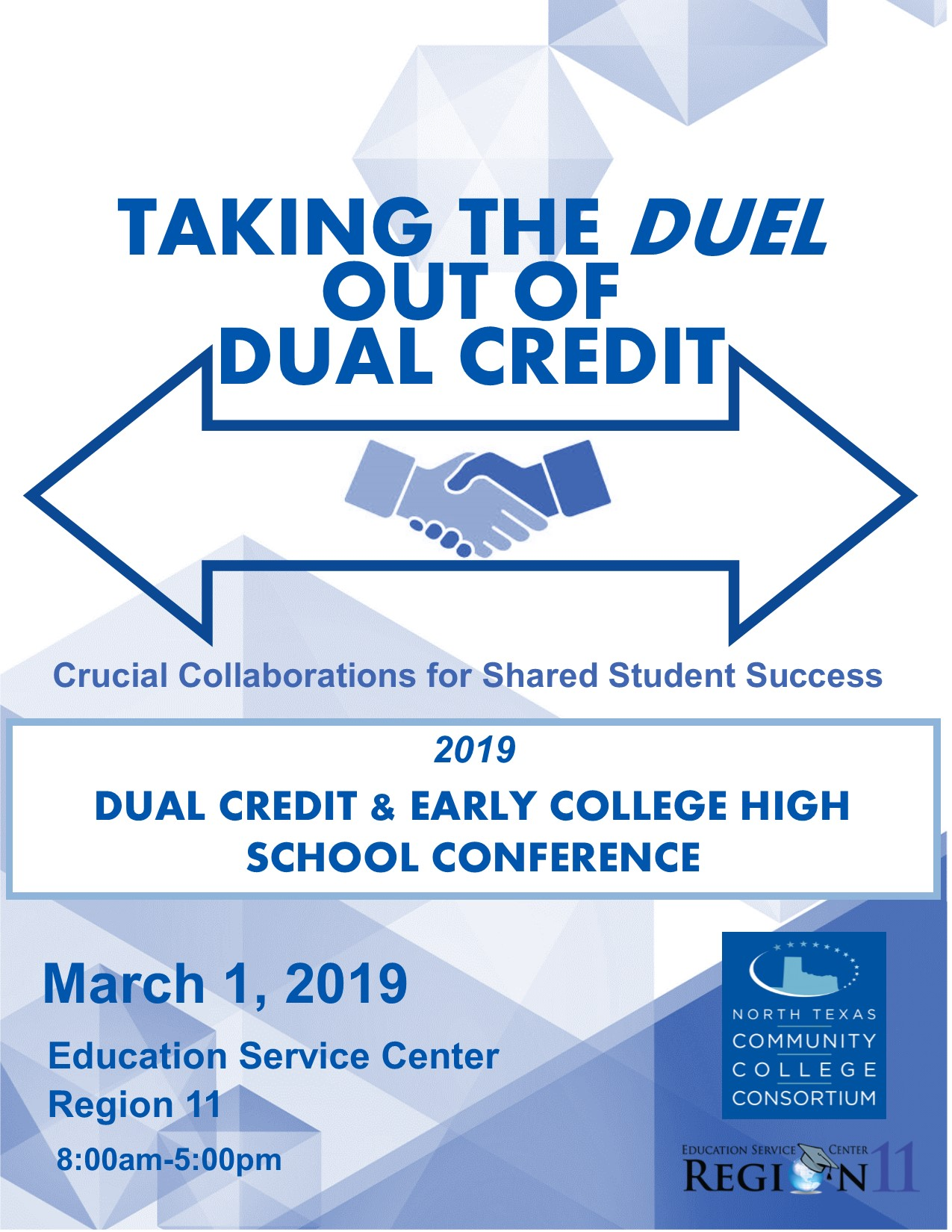 ECHS Dual Credit Conference | North Texas Community College Consortium