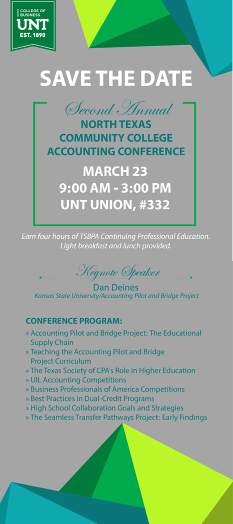 2nd Annual Community College Accounting Conference